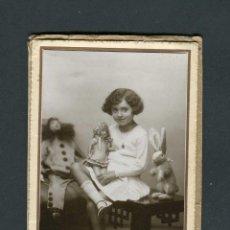 Fotografía antigua: ZARAGOZA. PRECIOSA FOTOGRAFÍA DE NIÑA. FOTO GRACIA. C.1930. Lote 263174390