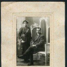 Fotografía antigua: FOTO DE BODA. SABADELL. F: ALBERT RIFÀ. C.1920. Lote 263175930