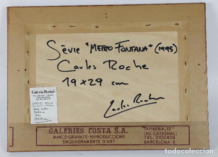Fotografía antigua: Carles Roche (Barcelona 1967) SERIE METRO FONTANA, 1995. GALERÍA BERINI, BARCELONA. - Foto 3 - 264529614
