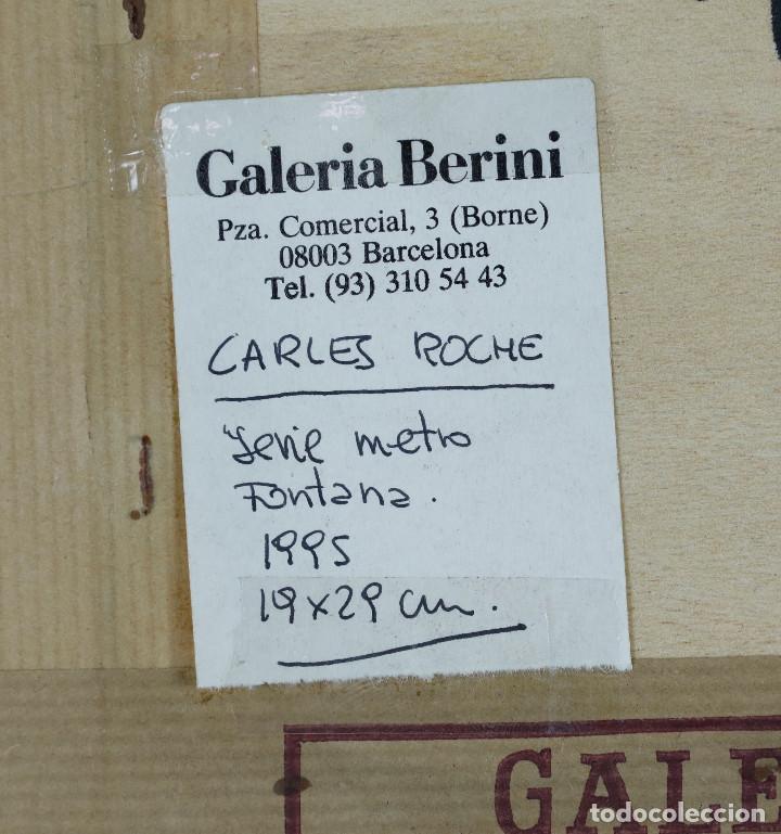 Fotografía antigua: Carles Roche (Barcelona 1967) SERIE METRO FONTANA, 1995. GALERÍA BERINI, BARCELONA. - Foto 4 - 264529614