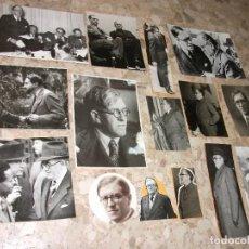 Fotografía antigua: 15 FOTOGRAFIAS DE JULIO ALVAREZ DEL VAYO - VILLAVIOSA DE ODON EJERCITO REPUBLICANO REPUBLICA MILITAR. Lote 265799294