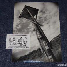 Fotografía antigua: FOTOGRAFIA - F. CATALA ROCA ,CREU DE TERME D´ARGENTONA ANTONI MORAGAS I GALLISSA 1952. Lote 268075009