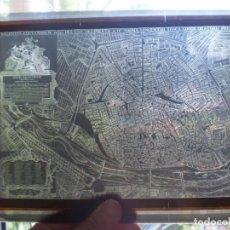 Fotografía antigua: MAPA DE VALENCIA SIGLO XVIII EN CRISTAL. AÑO ??? VER FOTOS. OCASION. Lote 269069768