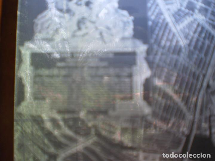 Fotografía antigua: MAPA DE VALENCIA SIGLO XVIII EN CRISTAL. AÑO ??? VER FOTOS. OCASION - Foto 6 - 269069768