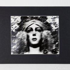 Fotografía antigua: LA MACARENA, FOTO: COLITA. FIRMADA A MANO, AÑO 1974. TAMAÑO FOTO: 30X40CM.. Lote 269154878