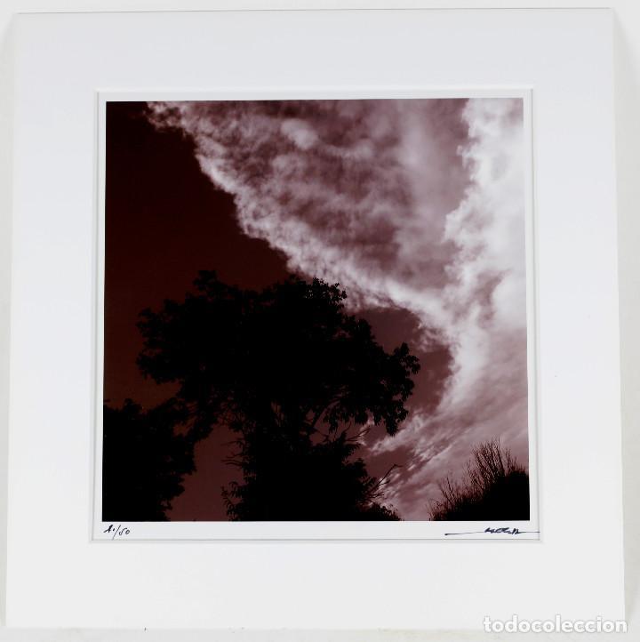 MANEL ESCLUSA - FOTOGRAFÍA 20X20 CM. EN PASPARTOUT 29,5X29CM. (Fotografía Antigua - Gelatinobromuro)