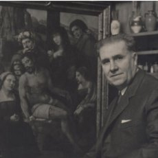 Fotografía antigua: FOTO ALFONSO RETRATO DEL DIRECTOR DEL MUSEO DEL PRADO EN 1968. 39 X 31 CM. Lote 269471538