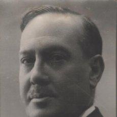 Fotografia antica: 1931 MANUEL MACHADO RETRATADO POR ALFONSO. 12 X 9 CM APROX.. Lote 269950248