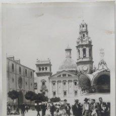 Fotografía antigua: ALCOY TAMAÑO 12,5 X 17,5 CM.. Lote 270149973