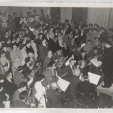 Fotografía antigua: ALCOY 15 NOVIEMBRE 1953 EL CALDERON FESTIVAL SANTA CECILIA TAMAÑO 12,5 X 8,5 CM.. Lote 270150463