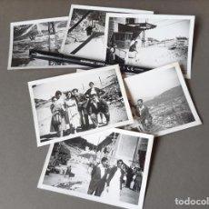 Fotografía antigua: LOTE DE 8 FOTOGRAFÍAS DE NAVACERRADA DE 1959. Lote 270165658