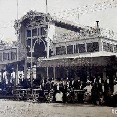 Fotografía antigua: VALENCIA - 1920'S - CAFE RESTAURANTE HORCHATERIA - FOTOGRAFIA BARBERA MASIP. Lote 270921913