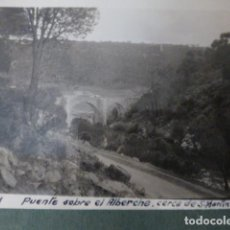 Fotografia antica: SAN MARTIN DE VALDEIGLESIAS MADRID PUENTE SOBRE EL ALBERCHE FOTOGRAFIA 1931 8 X 6,5 CMTS. Lote 276289668