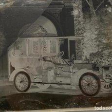 Fotografía antigua: PLACA CRISTAL NEGATIVO , COCHE , AUTOMOVIL . 21,5 X 16,5 CM. 1920 APROX.. Lote 277511408