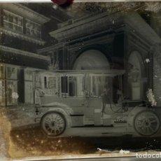 Fotografía antigua: PLACA CRISTAL NEGATIVO , COCHE , AUTOMOVIL . 21,5 X 16,5 CM. 1920 APROX.. Lote 277512238