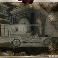 Fotografía antigua: PLACA CRISTAL NEGATIVO , COCHE , AUTOMOVIL . 21,5 X 16,5 CM. 1920 APROX.. Lote 277512773
