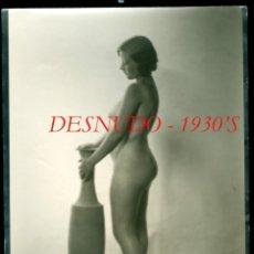 Fotografía antigua: DESNUDO - 1930'S - AUTOR DESCONOCIDO. Lote 277688928