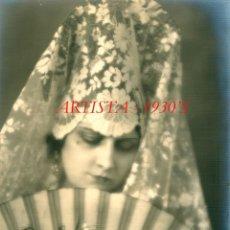 Fotografía antigua: ARTISTA - 1930'S - FOTOGRAFIA JOSEP MASANA. Lote 277690233
