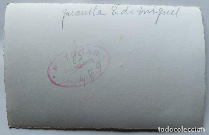 Fotografía antigua: SAN SEBASTIAN LOTE 4 FOTOGRAFIAS TAMAÑO POSTAL - Foto 2 - 278962983