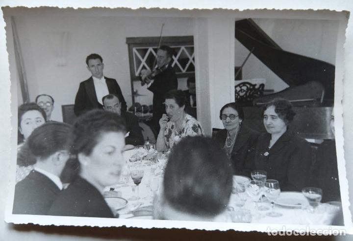 Fotografía antigua: SAN SEBASTIAN LOTE 4 FOTOGRAFIAS TAMAÑO POSTAL - Foto 7 - 278962983