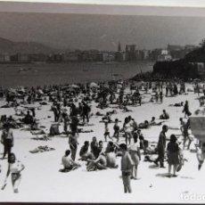 Fotografía antigua: SAN SEBASTIAN LOTE 4 FOTOGRAFIAS TAMAÑO 8,5 X 11,5 CM.. Lote 278963108