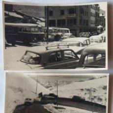 Fotografía antigua: ANDORRA LOTE 3 FOTOGRAFIAS TAMAÑO 8,5 X 13,5 CM. Lote 279442378
