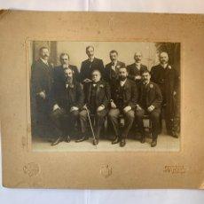 Fotografía antigua: FOTO. PERSONALIDADES DE AQUELLOS AÑOS. GOMBAU, FOTÓGRAFO. MADRID.. Lote 279505733