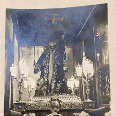 Fotografía antigua: ESPECTACULAR FOTO FIRMADA DE JALÓN ANGEL. CRISTO NAZARENO DE AGUARÓN, ZARAGOZA. SEMANA SANTA. Lote 286493858