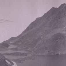 Photographie ancienne: HUESCA. LAGUNAS DE ALTA MONTAÑA. IBONES DE PONTIELLOS, BALNEARIO DE PANTICOSA. C.1920. Lote 286903178