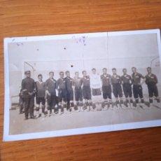 Photographie ancienne: FÚTBOL. LOS ALCÁZARES 15-5-1928. Lote 287006343
