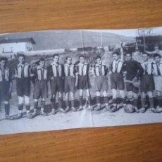 Photographie ancienne: FÚTBOL. EQUIPO DEL BARACALDO, VIZCAYA. FOTO ORIGINAL ANTIGUA. Lote 287006498