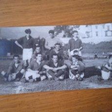 Photographie ancienne: FÚTBOL. EQUIPO DEL DEUSTO, VIZCAYA. FOTO ORIGINAL ANTIGUA. Lote 287006658