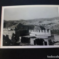 Fotografía antigua: ALMERIA ANTIGUA FOTOGRAFIA 7,5 X 10,5 CMTS. Lote 287091343