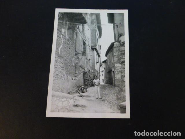 ALBARRACIN TERUEL ANTIGUA FOTOGRAFIA 7,5 X 10,5 CMTS (Fotografía Antigua - Gelatinobromuro)