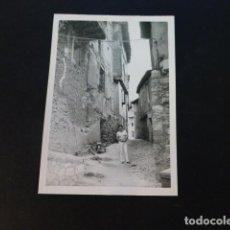 Fotografía antigua: ALBARRACIN TERUEL ANTIGUA FOTOGRAFIA 7,5 X 10,5 CMTS. Lote 287091753