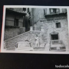 Fotografía antigua: ALBARRACIN TERUEL ANTIGUA FOTOGRAFIA 7,5 X 10,5 CMTS. Lote 287091783