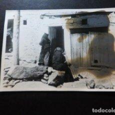 Fotografía antigua: LA ALBERCA SALAMANCA ANTIGUA FOTOGRAFIA 7,5 X 10 CMTS. Lote 287438058