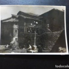 Fotografía antigua: LA ALBERCA SALAMANCA ANTIGUA FOTOGRAFIA 7,5 X 10 CMTS. Lote 287439093