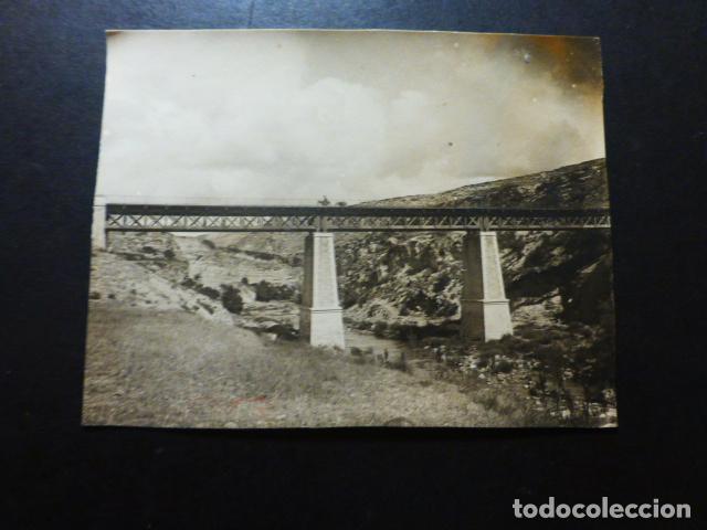 PRIEGO CUENCA PUENTE FOTOGRAFÍA 1925-26 11 X 8 CTMS (Fotografía Antigua - Gelatinobromuro)