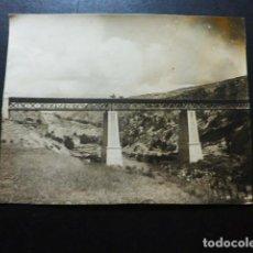 Fotografía antigua: PRIEGO CUENCA PUENTE FOTOGRAFÍA 1925-26 11 X 8 CTMS. Lote 287455883