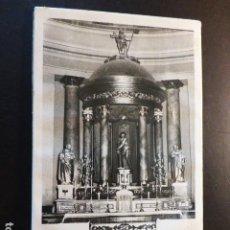 Fotografía antigua: MALLEN ZARAGOZA CRISTO EN LA COLUMNA ANTIGUA FOTOGRAFIA 12 X 20 CMTS. Lote 287544558