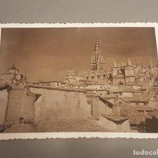 Fotografía antigua: TOLEDO CONJUNTO FOTOGRAFÍAS AÑOS 40/50 DISTINTOS FORMATOS Y TAMAÑOS. Lote 287552283