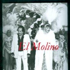 Fotografía antigua: CABARET - EL MOLINO - BARCELONA - 1980. Lote 287577228