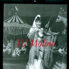 Fotografía antigua: CABARET - EL MOLINO - BARCELONA - 1980. Lote 287577368