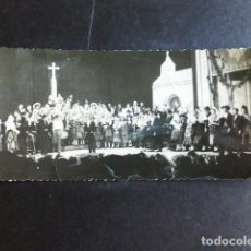 Fotografía antigua: SALAMANCA FESTIVAL TIPICO EN TEATRO GRUPO CON TRAJES CHARROS ANTIGUA FOTOGRAFIA HORNA FOTOGRAFO. Lote 287640693