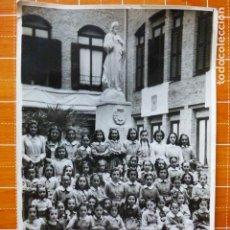 Fotografía antigua: MADRID GRUPO ESCOLAR MARTIN SANTOS FOTOGRAFO 17,5 X 11 CTMS. Lote 287692968