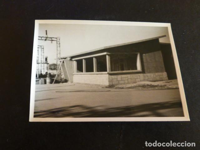 SALAMANCA ESTACION ELECTRICA EN CONSTRUCCION PAULINO FOTOGRAFO 7,5 X 10,5 CMTS (Fotografía Antigua - Gelatinobromuro)
