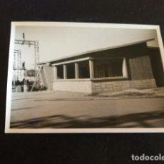Fotografía antigua: SALAMANCA ESTACION ELECTRICA EN CONSTRUCCION PAULINO FOTOGRAFO 7,5 X 10,5 CMTS. Lote 287716848