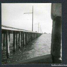 Fotografía antigua: SANT CARLES DE LA RÀPITA. PUERTO. SALINES. 1965. Lote 287903263