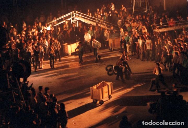 Fotografía antigua: LA FURA DELS BAUS - 1983 - ACCIONS - 6 NEGATIVOS DE CELULOIDE - Foto 2 - 287930508